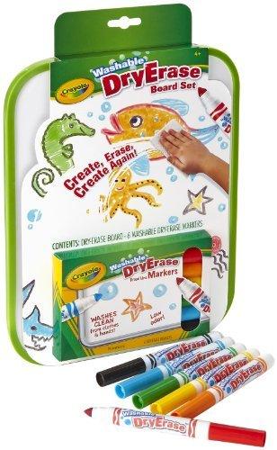 Age: 4 + - Dry-erase Marker Board Set