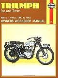 Triumph Pre-unit Construction Twins Owner's Workshop Manual (Motorcycle Manuals)