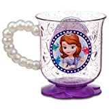 Disney Store Sofia the First Pearl Handled Glitter Cup