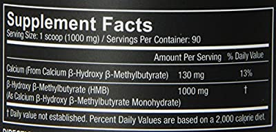 Core Nutritionals Hmb Dietary Supplement, 90 Gram