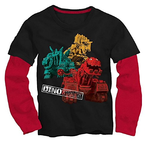 Dinotrux Shirt Toddler Boys Long Sleeve Tee (3T)