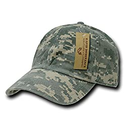 RAPID DOMINANCE RAPID DOMINANCE Camo Polo Caps (One Size, Universal Digital)