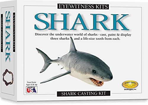 Skullduggery Eyewitness Shark Casting Kit (Shark Model Kit compare prices)