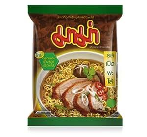 Amazon.com : MAMA Brand Thai Instant Noodles Pa-Lo Duck Flavour (Pack