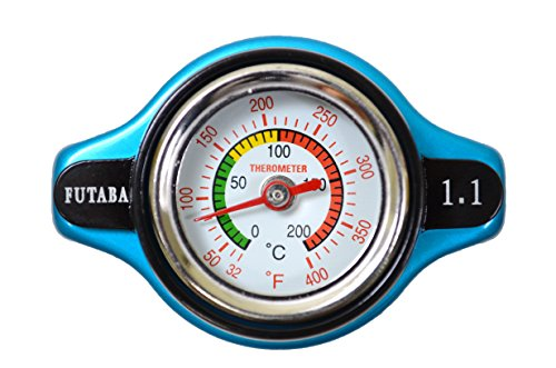 PT Auto Warehouse T126 - Safe Thermo Radiator Cap - 16 PSI (Radiator 2004 Mitsubishi Endeavor compare prices)