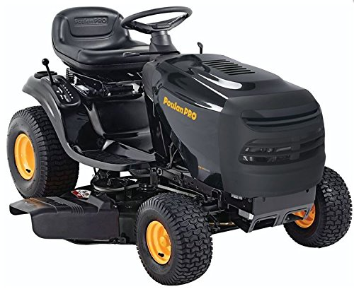 Poulan Pro 960420164 PB145G42 Briggs 14.5 HP 6-Speed Transmission Lever Cutting Deck Riding Mower, 42-Inch