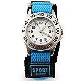 腕時計 スポーツ アウトドア  カジュアル アナログ クオーツ時計 防水 (ブルー) [並行輸入品]