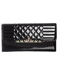 Sakushi Women's Wallet (Black, NG 00019 A)