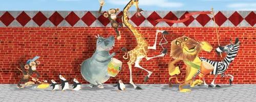 絵画「Madagascar Kids Parade」 マダガスカル・パレード (マダガスカルより) DreamWorks Animation Fine Art ドリームワークスアニメーションファインアート