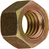 Steel Hex Nut, Cadmium Plated Finish, Grade 5, Right Hand Threads, Meets Mil Spec 51967, Inch