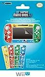 Wii U GamePad and Remote Decorative Skin and Screen Filter (New Super Mario Bros U Version)