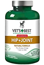 Vet's Best Advanced Hip & Joint Dog Supplements, 90 Chewable Tablets