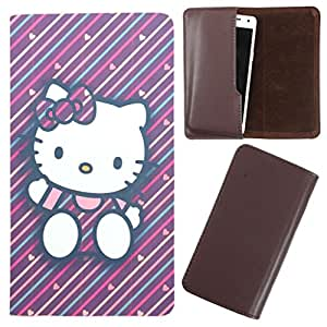 DooDa - For Lava Iris Fuel 20 PU Leather Designer Fashionable Fancy Case Cover Pouch With Smooth Inner Velvet
