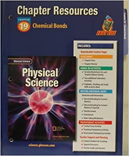 Glencoe Science: Physical Science Chapter resources chapter 19 ...