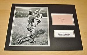 Kenny Dalglish HAND SIGNED Autograph 16x12 Photo Display Liverpool Legend + COA from Up North Memorabilia