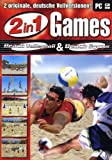 2 in 1 Games - Beach Volleyball & Beach Soccer