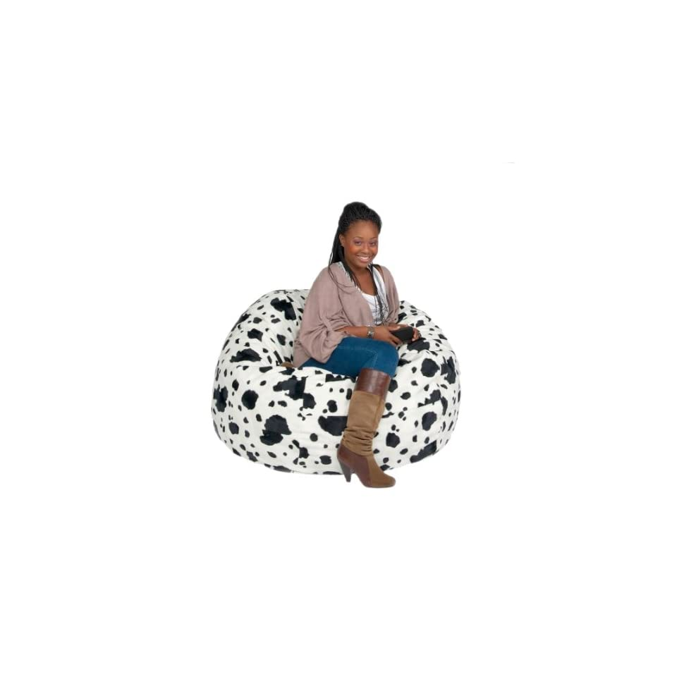 Magnificent Bean Bag Chair Large Kids Sack Micro Suede 3 Cow Animal Ocoug Best Dining Table And Chair Ideas Images Ocougorg