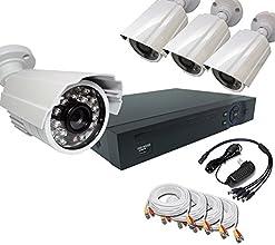 Bellcom Hd-cvi Crime Prevention 4pcs Camera Set 4 Channels Security DV  R720p 10megapixel High Image