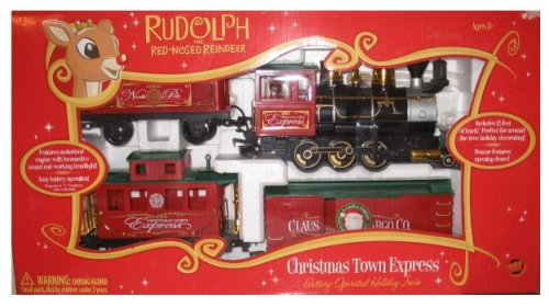 Rudolph The Red Nosed Reindeer - Christmas Town Express Train Set