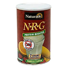 Naturade NRG Protein Booster, Vanilla flavor, 30 oz 1 lb 14 oz 852 g