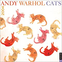 ANDY WARHOL CATS WALL CALENDAR 2004