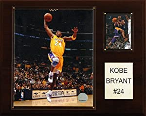 NBA Kobe Bryant Los Angeles Lakers Player Plaque by C&I Collectables