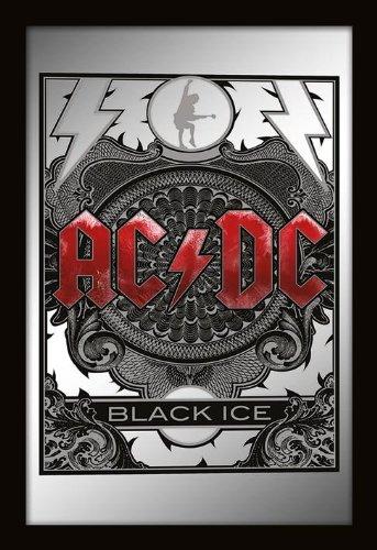 AC/DC Black Ice Specchio Standard