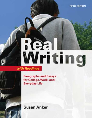 paragraph and essay a worktext with reading