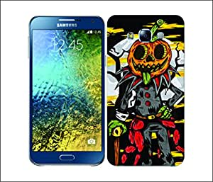 Galaxy Printed 2869 Spooky Haloween Pumpkin Hard Cover for Samsung CORE 2