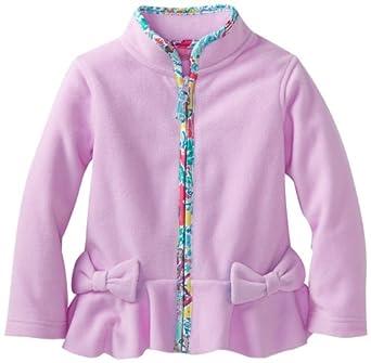 Lilly Pulitzer Little Girls' Liv Jacket, Pink Hyacinth, X-Small
