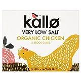 Kallo Very Low Salt Chicken Stock Cubes 6 x 10g