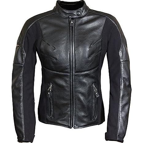 Richa Kelly Mesdames Veste en cuir pour moto