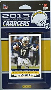 San Diego Chargers 2013 Score NFL Football Limited Edition Factory Sealed 9 Card... by Panini