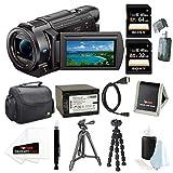 Sony FDR-AX33/B (FDR-AX33B, FDR-AX33) 4K Camcorder with 1/2.3