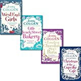 Jenny Colgan Jenny Colgan 4 Books Collection Set, (West End Girls, The Loveliest Chocolate shop in Paris, Little Beach street Bakery and Christmas at the Cupcake cafe)
