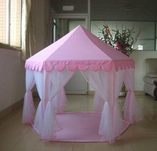 Princess Castle PLay Tent By Sid Trading fairy princess castle
