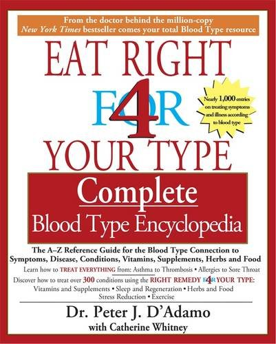 Eat Right for Your Type: Complete Blood Type Encyclopedia