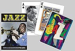 Jazz Playing Cards Swing & Jazz Legends