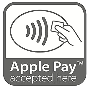 Apple Pay Decal Stickers x2
