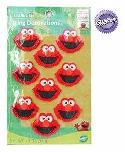 Amazon.com: Elmo (Sesame Street) Cake Edible Icing ...