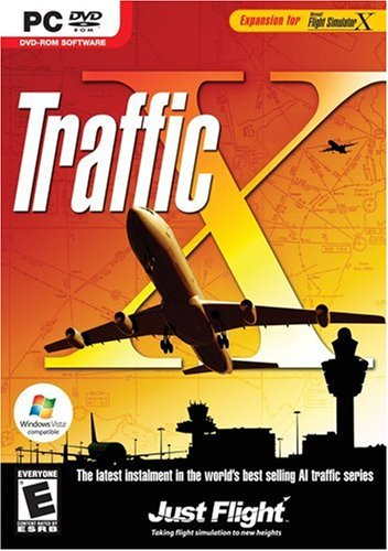 Traffic Expansion for MS Flight Simulator X/2004 DVD