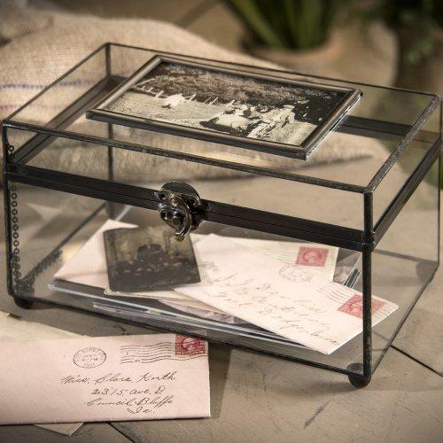 J Devlin Box 603 Glass Photo Display Case Box 6 x 10 x 5 1/2 (Glass Display Box Large compare prices)