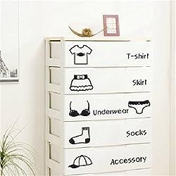 Ey-slimming Shang Schlafzimmer Kinderzimmer Möbel Klimaanlage Kleiderschrank Kleidung Klassifizierung Wandaufkleber dekorative Aufkleber