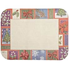 "Dinex DXHR457I002 Paper Seasonal Recycled Tray Cover with Straight Edge/Round Corner, 12-1/2"" Length x 16-1/2"" Width, Size I (Case of 1000)"