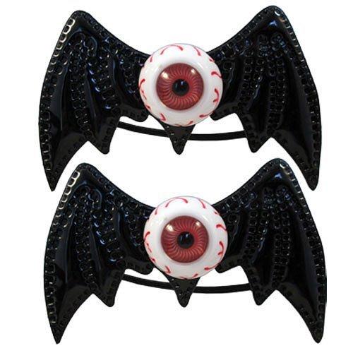 Kreepsville 666 Batty Eye Bow Bands Black by Kreepsville 666