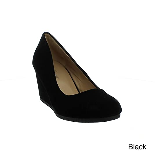 Ladies Official Forever Link WoPatricia-02 Wedge Pumps Shoes Cheap Online