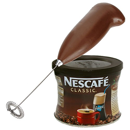 GREEK FRAPPE coffee - 50 gr NESCAFE Classic & Hand Mixer - Frother (Nescafe Frappe Mixer compare prices)