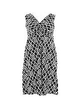 Dress for Less Plus Size Print Maxi Surplice Dress./Free Returns