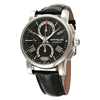 [Mont Blanc] Montblanc watch Star 4810 102377 Chronograph Black Stainless Steel Automatic Men's 102377 Men's parallel import goods]