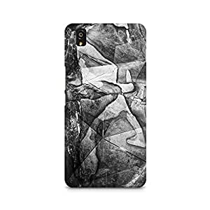 Mobicture Mineralized Premium Printed Case For OnePlus X